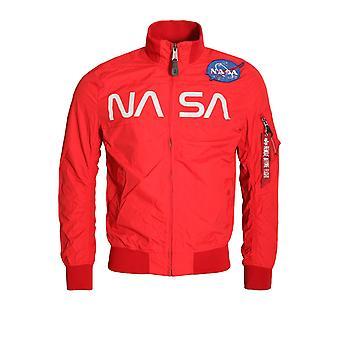 Alpha Industries NASA jacka | Speed Red
