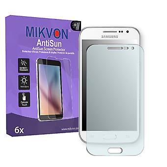 Samsung I8550 Galaxy Win Screen Protector - Mikvon AntiSun (Retail Package with accessories)