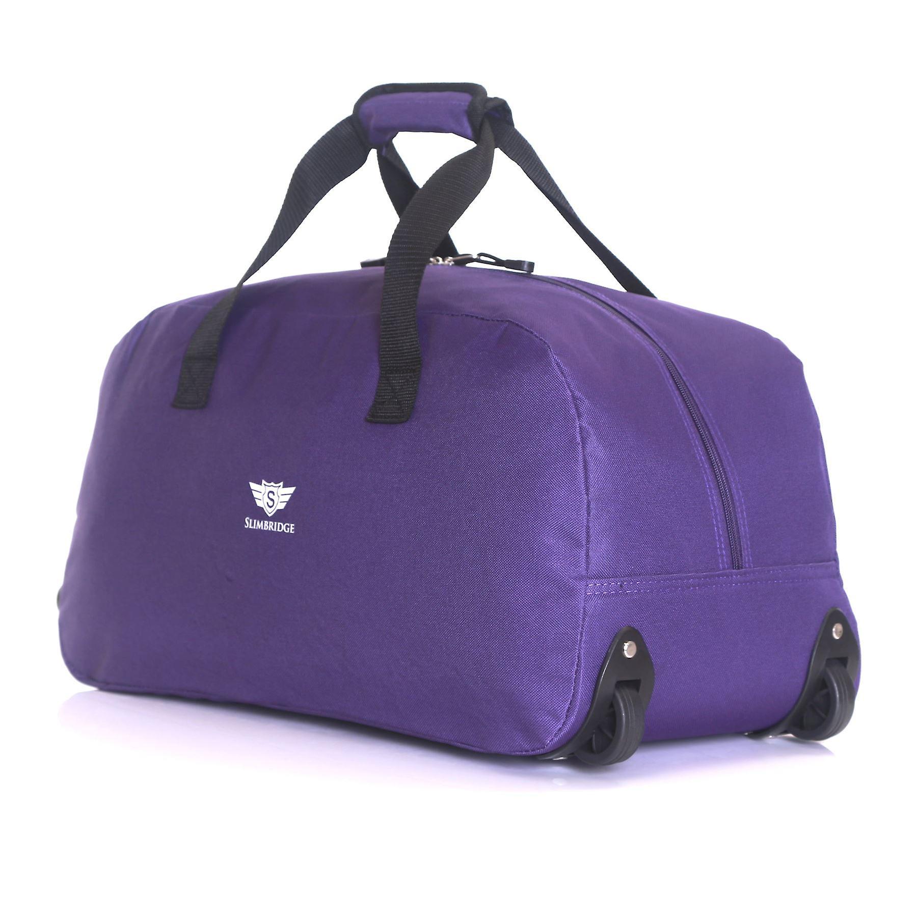 Slimbridge Castletown Cabin Approved Wheeled Bag, Purple