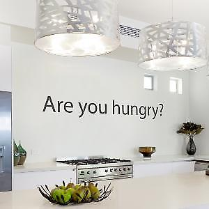 Are you hungry? Large Wall Sticker