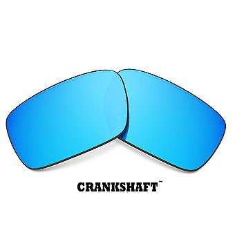 CRANKSHAFT Replacement Lenses Blue & Green by SEEK fits OAKLEY Sunglasses