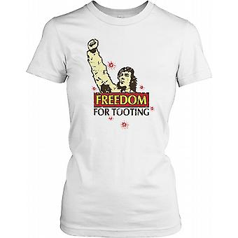 Freedom For Tooting - Funny Ladies T Shirt