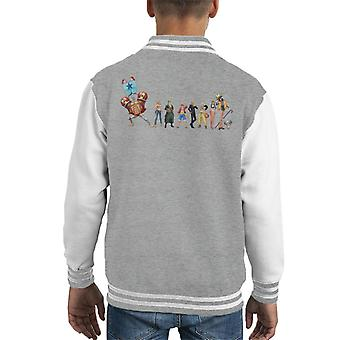 The Straw Hats Crew One Piece Kid's Varsity Jacket