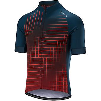 Altura Orange-Blue 2019 Icon Satalite Short Sleeved Cycling Jersey