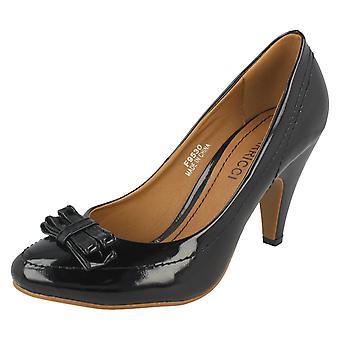 Ladies Barricci Bow Detail Heels
