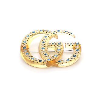 Gucci Yellow Metal Pin