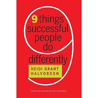 Nine Things Successful People Do Differently - 9781633694132 Book