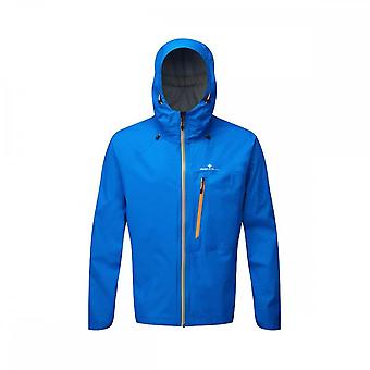 Ronhill Infinity Torrent Mens Fully Waterproof Running Jacket Electric Blue