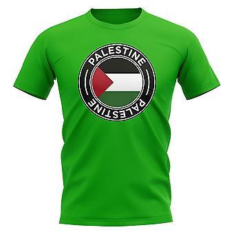 Palestina Football Badge T-shirt (grön)