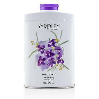 Yardley London April Violets Perfumed Talc 200g/7oz