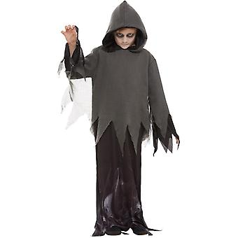 Childrens Ghost Ghoul Fancy Dress Costume