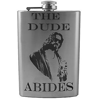 8oz the dude abides flask l1