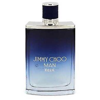 Jimmy Choo Man Blue By Jimmy Choo Eau De Toilette Spray (tester) 3.3 Oz (men) V728-546519