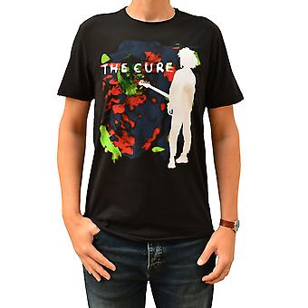 Amplified The Cure Boys Don't Cry Colour Splash Black Crew Neck T-Shirt XL