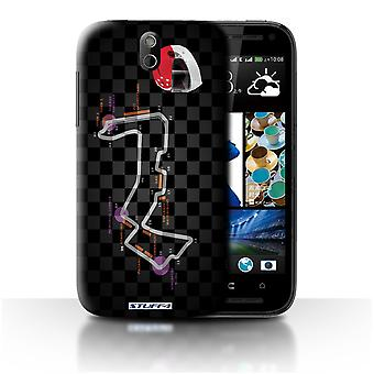 STUFF4 Case/Cover voor HTC Desire 608t/Singapore/2014 F1-circuit