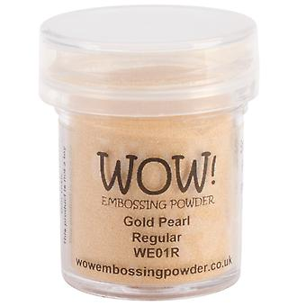 Wow ! Embossage poudre 15Ml or Wow perle We01r