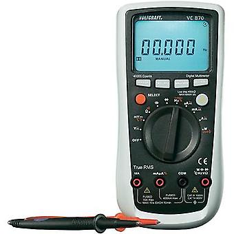 Handheld multimeter digital VOLTCRAFT VC870 Calibrated to: Manufacturer's standards (no certificate) CAT III 1000 V, CA