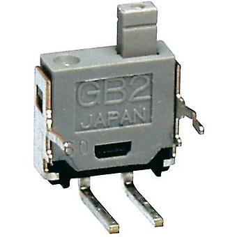 Pulsador de 28 V DC/AC 0,1 A 1 x Off/(On) NKK Switches GB215AH momentáneo 1 PC
