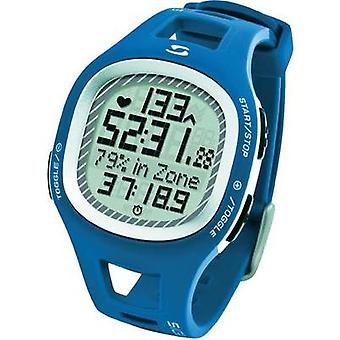 Heart rate monitor watch with chest strap Sigma PC 10.11 Blue