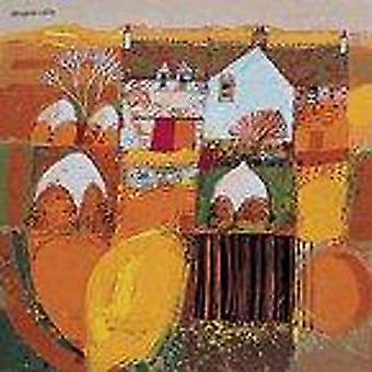 George Birrell print - Irish Hayricks