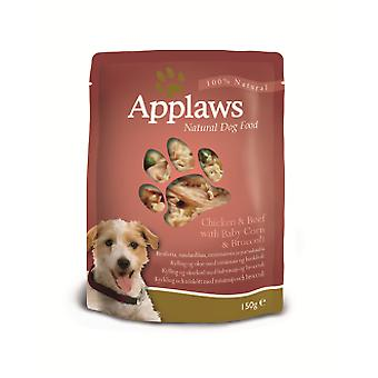 Applaws Dog Pouch Chicken-Ox 150 Gr (Cani , Cibo per cani , Cibo umido)