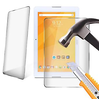 Samsung Galaxy Tab A 10.1 WiFi getemperd glas LCD Screen Protector Guard voor 10,1 inch Tablet door i-Tronixs-Clear (Pack van 2)