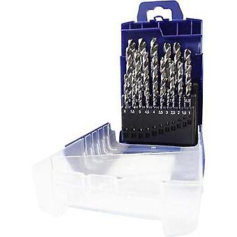 HSS Metal twist drill bit set 25-piece Heller 287