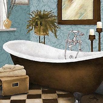 Por la tarde baño II cartel imprimir por Elizabeth Medley