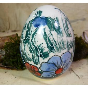 Easter egg 7 cm 2nd choice, Bunzlau pottery, unique, BSN 20948