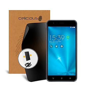 Celicious Privacy Asus ZenFone 3 Zoom 2-Way Visual Black Out Screen Protector