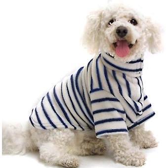 Cosi Fleece Coat Blue Stripe 30cm (12