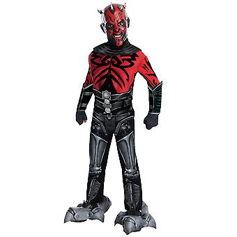 Costume de Darth Maul Deluxe Star Wars film Boys mécanique