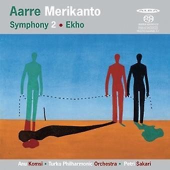 Merikanto / Komsi / Turku Pco / Sakari - symfoni 2 & Ekho [SACD] USA import