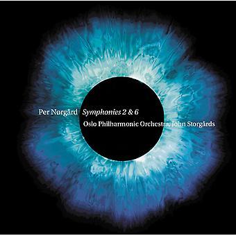 Norgard, Per / Oslo Filharmonikerne - Per Norgard: symfonier nr. 2 & 6 [SACD] USA import