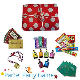 Lugano Dinner Party Parcel Game - Ready Made