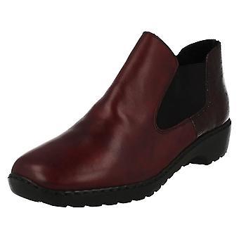 Ladies Rieker Warmlined Ankle Boots L6090