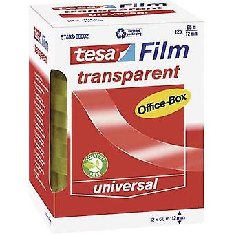 Tesa film tesa tesafilm® Transparent (L x W) 66 m x 12 mm