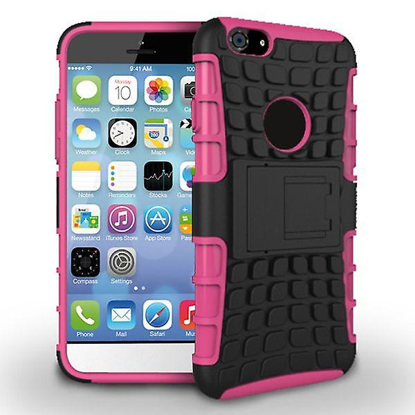 Hybrid Case 2 teilig Robot Pink für Apple iPhone 6 4.7