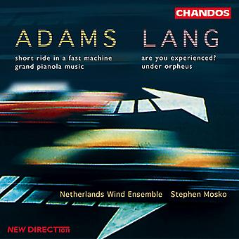 Adams/Lang - John Adams, David Lang; Works for Wind Ensemble [CD] USA import