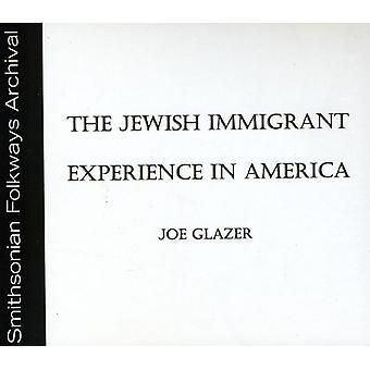 Joe Glazer - jødiske indvandrer erfaring i Amerika [CD] USA import