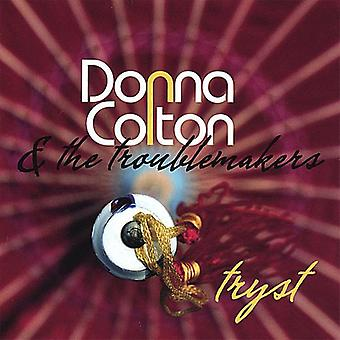 Donna Colton & the Troublemakers - Tryst [CD] USA import