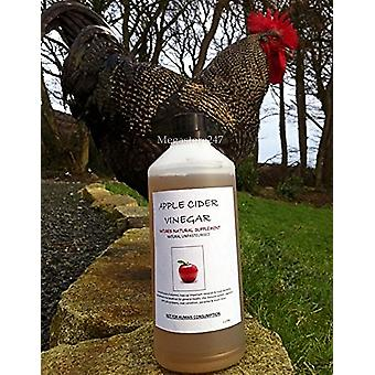 Hyfive Apple Cider Vinegar 5.5% with Mother for Poultry Natural & Unpasteurised 1L