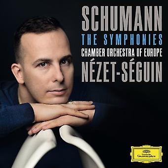 Schumann/Nezet-Seguin/kammer orkester af Eu - symfonier [CD] USA import
