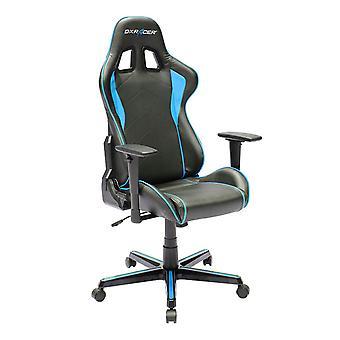 DX Racer DXRacer OH/FH08/NB High-Back Ergonomic Computer Chair PU(Black/Blue)