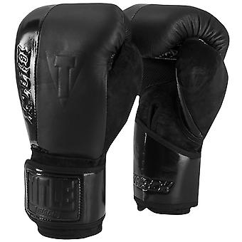 Title Boxing Black Blast Hook and Loop Training Gloves - Black