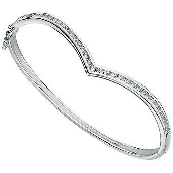 925 sølv hjerte armbånd