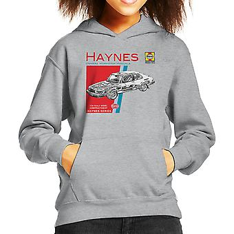 Haynes Owners Workshop Manual 0765 Saab 900 Turbo Kid's Hooded Sweatshirt