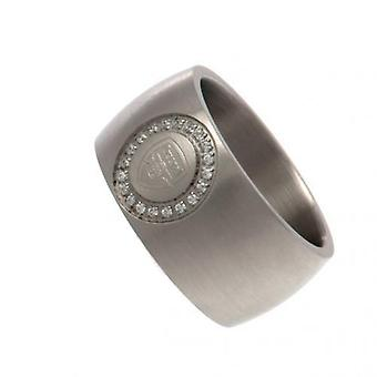 FC Arsenal-Stone Set Ring Mittel