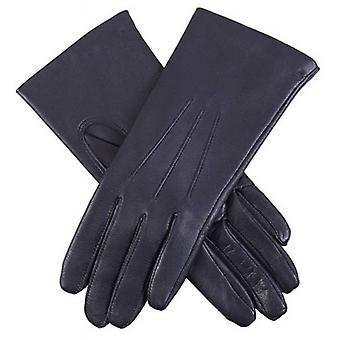 Dents Emma Classic Hairsheep Leather Gloves - Navy