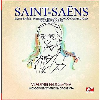 Saint-Saens - Introduction & Rondo Capriccioso in a Minor Op. 28 [CD] USA import